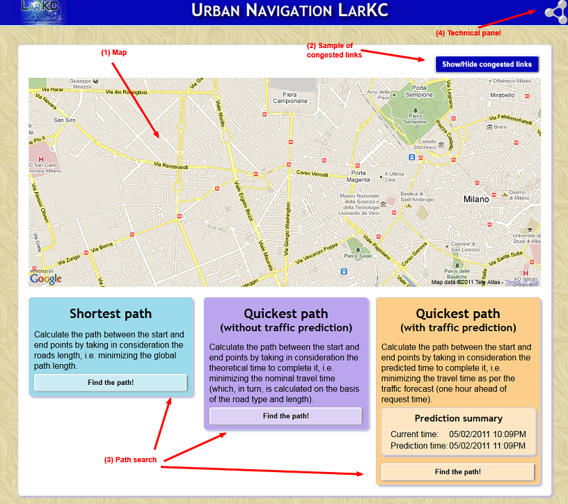 LarKC traffic demo